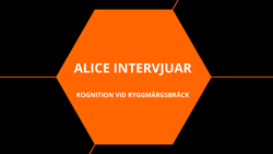 Alice intervjuar